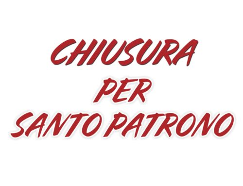 CHIUSURA SCUOLE DI SOMMARIVA PERNO PER SANTO PATRONO